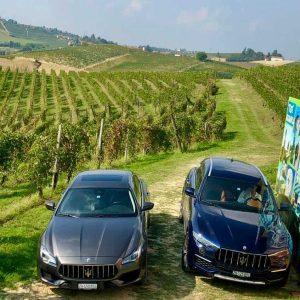Powering Round the Piedmont with Maserati and Mövenpick Wines