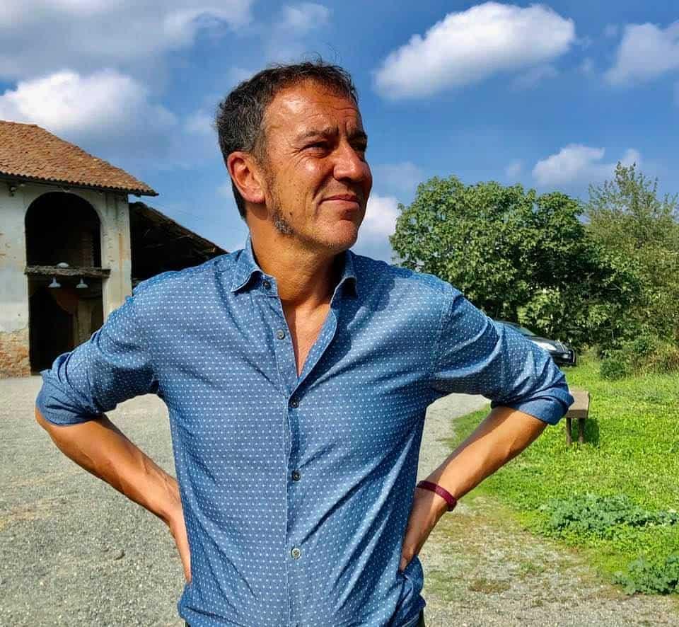 Alberto Chiarlo of Michele Chiarlo Wines Piedmont italy