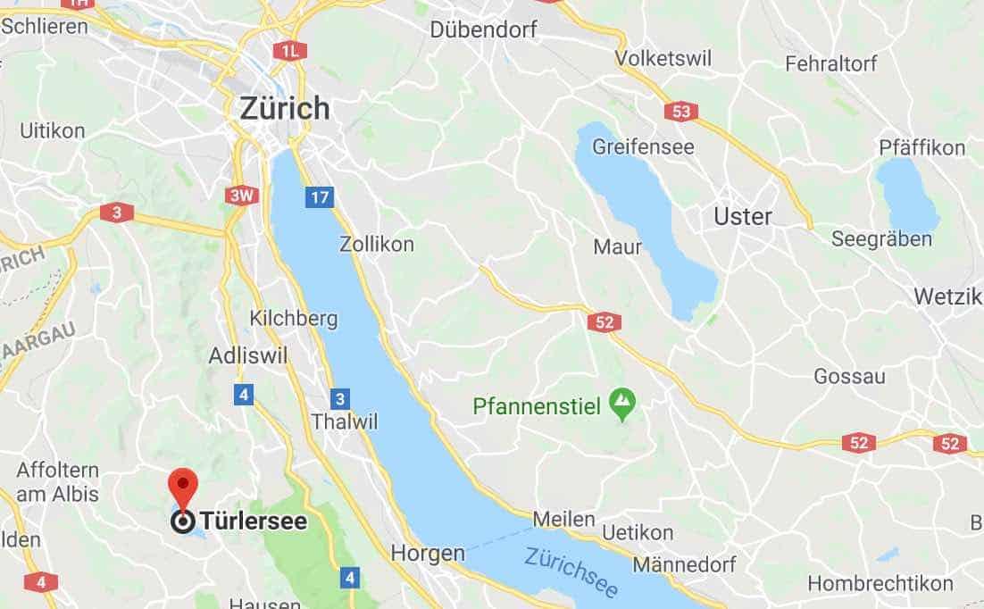 Google Map of Türlersee