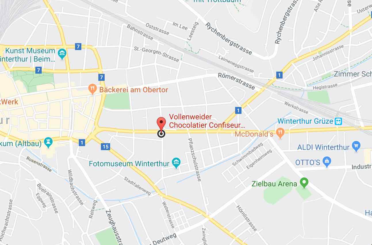 Vollenweider ChocolatAtelier Googleca maps