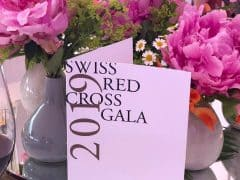 Swiss Red Cross Gala 2019 Haus Am See Zurich