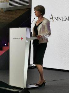 Annemarie Huber-Hotz President Swiss Red Cross