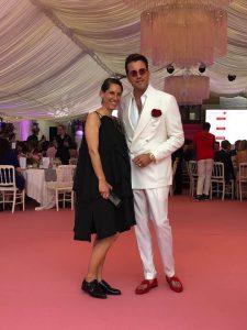 Evelyne Gorgos and DJ Antoine