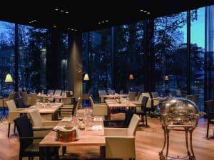 Epoca restaurant Hotel Waldhaus Flims