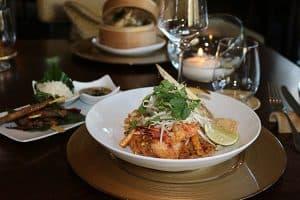 Curry at Siam Restaurant Waldhaus Flims