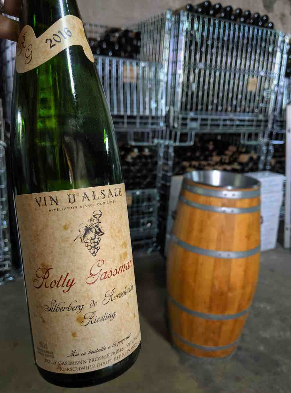 Rolly Gassman - Gourmet Food and Wine in Alsace France
