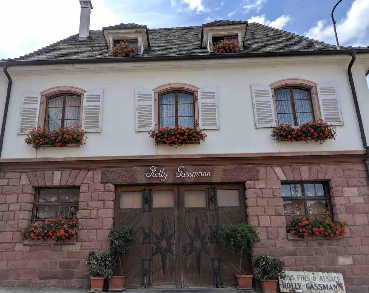 Rolly Gassman Gourmet Food and Wine in Alsace France