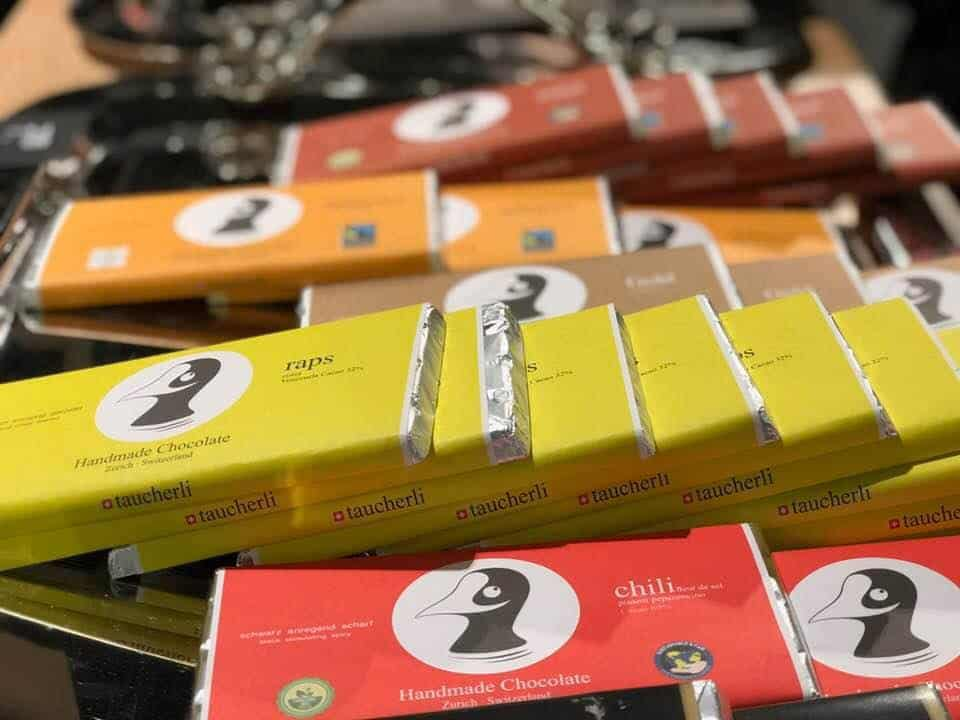 Taucherli Chocolate at Jelmoli's Food Market Zurich
