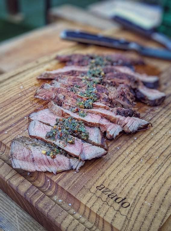 Azado grills at Gourmesse food festival zurich