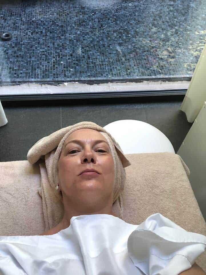 Spa treatment at the Hotel Splendide Royal Lugano