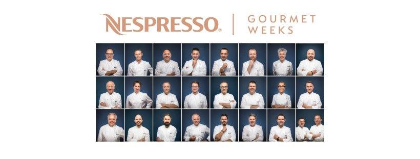 Nespresso Gourmet Weeks 3rd - 24th November 2019