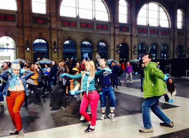 Zurich Tanzt at Zurich HB