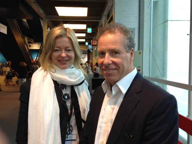 Lady Helen Windsor and Viscount Linley at Art Basel 2014
