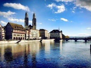 Zurich in the Summer