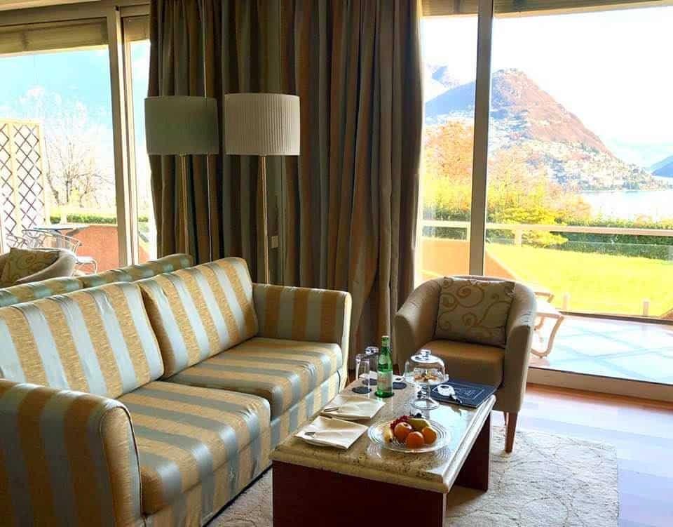 Bedrooms Villa Principe Leopoldo Lugano
