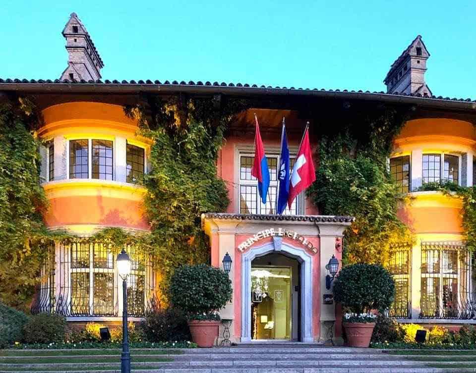 Amazing Dom Perignon Champagne Soiree at Villa Principe Leopoldo