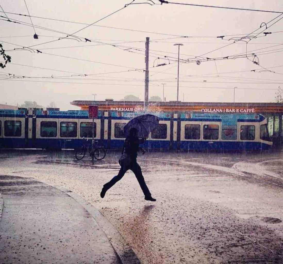 Rainy Day in Zurich