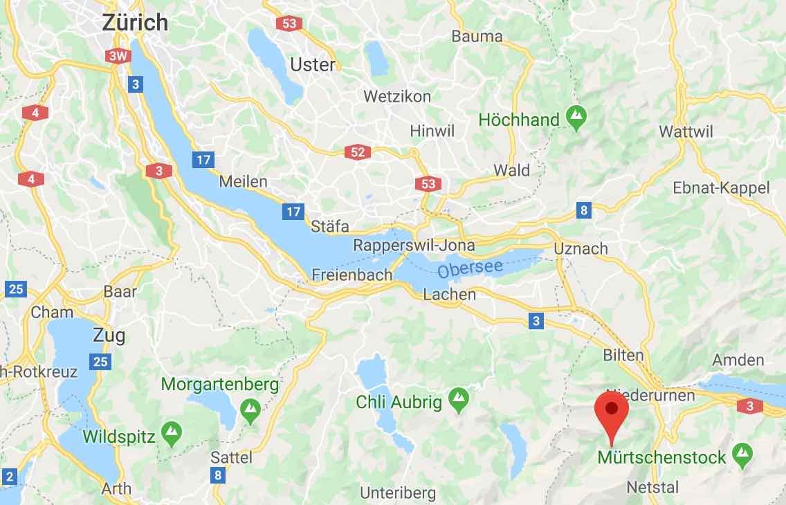 Obersee Näfels Google maps