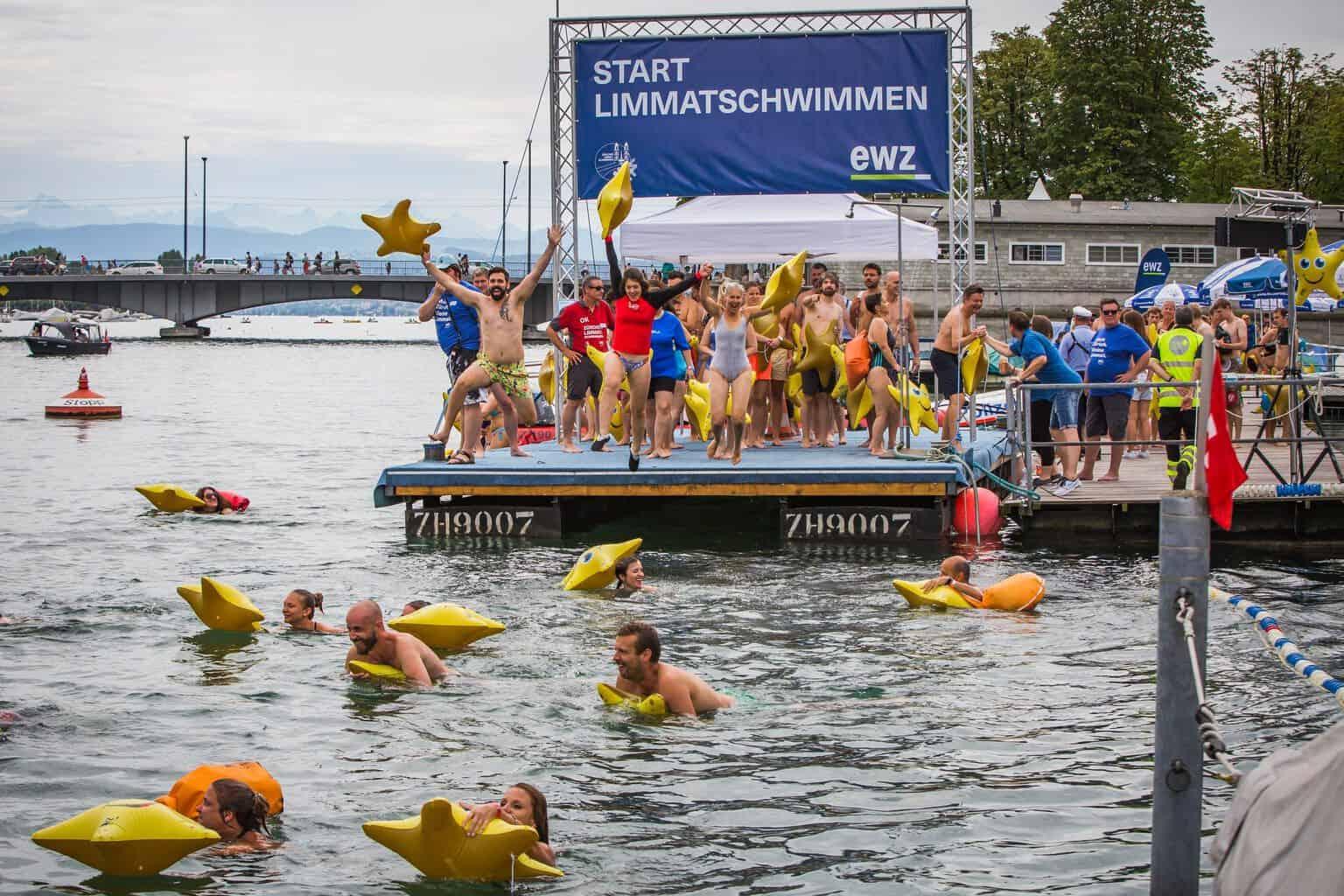 Photos of Limmatschwimmen Zurich 2019