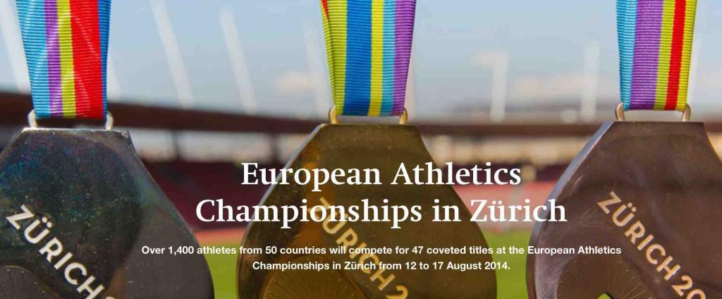 European Athletics Championships Zurich