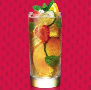 Glass of Pimms © Pimms