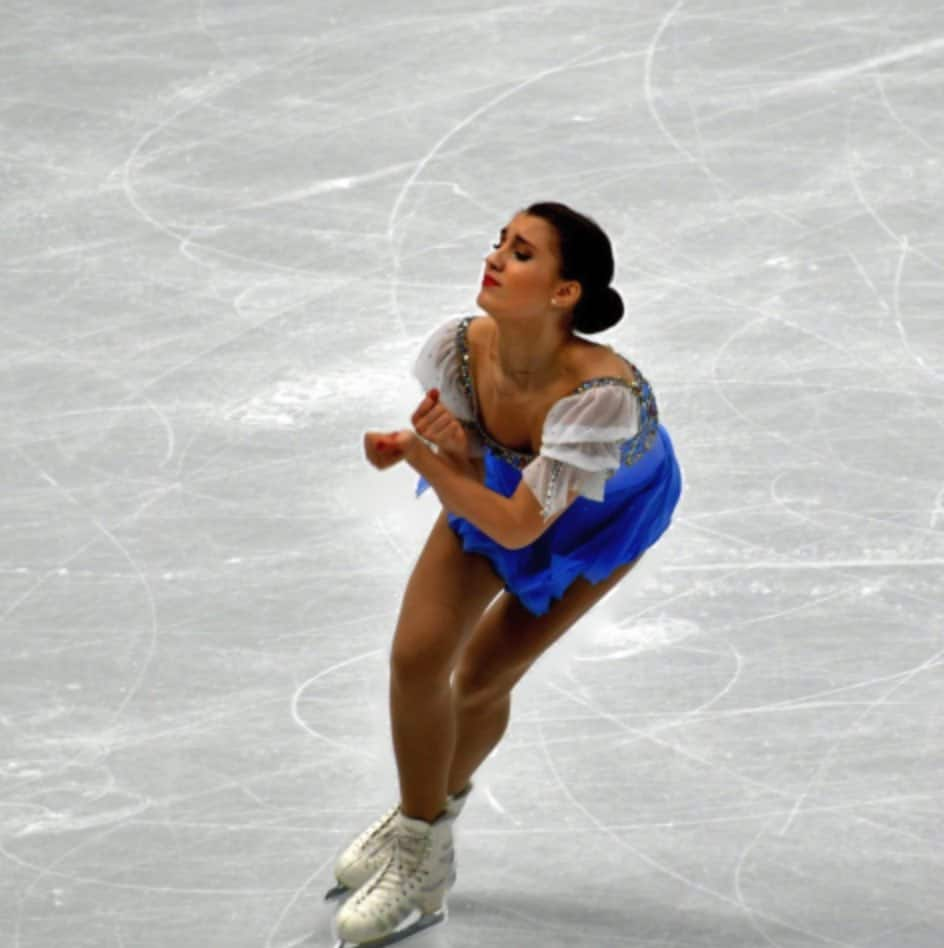 Alina Zagitova, the 2018 Olympic gold medalist and 2019 World Champion