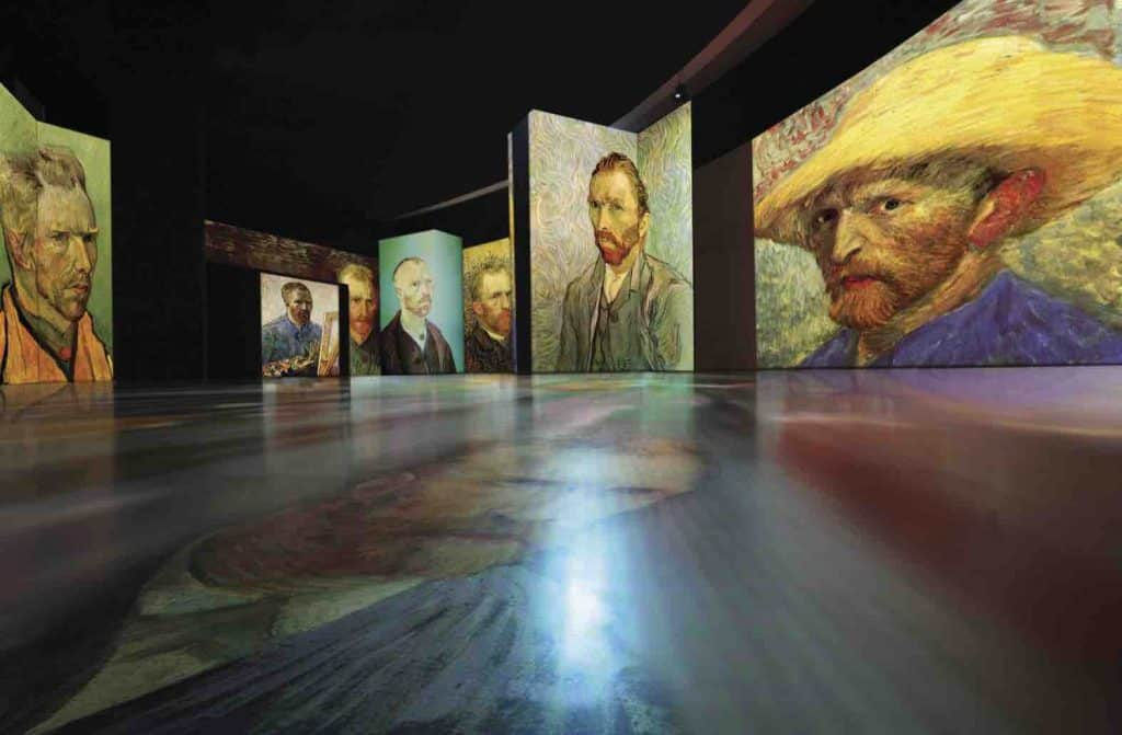 The Amazing Van Gogh Alive at the MAAG Halle Zurich