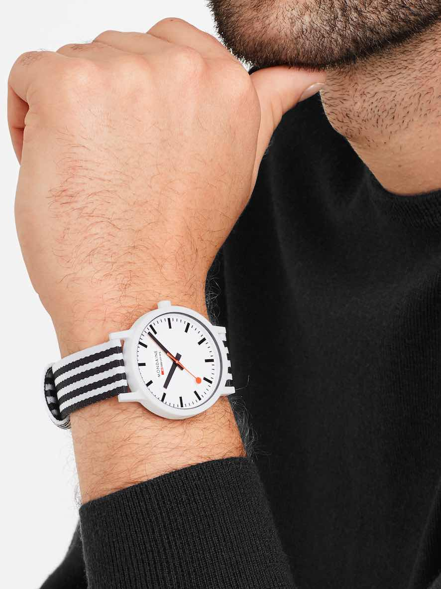 The Sustainable Mondaine Essence Watches