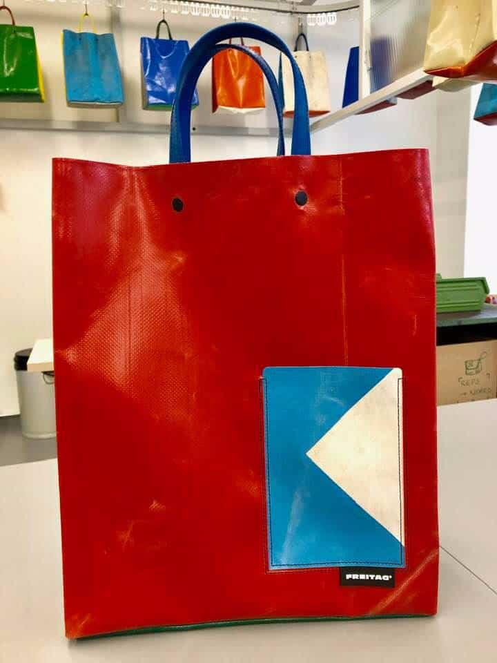 Design Your Very Own FREITAG F718 BUH Shopper in Zurich