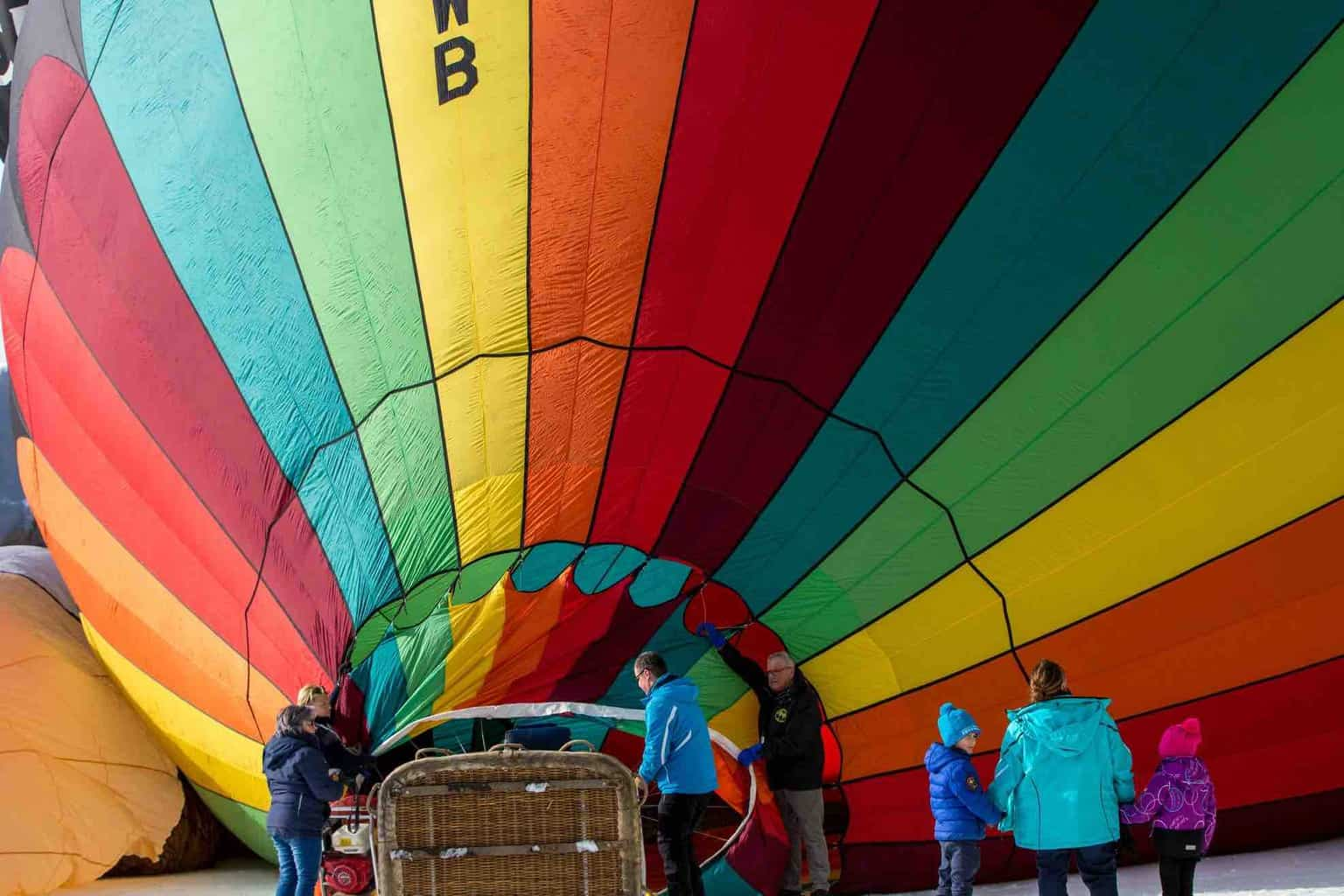 The Fabulous Hot Air Balloons at Chateau-d'Oex
