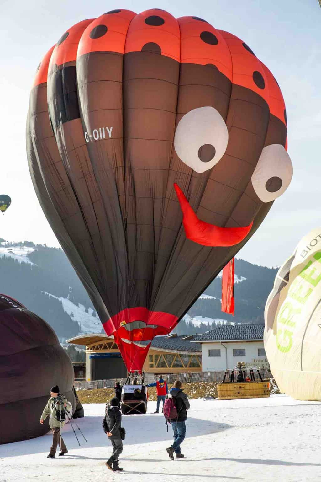 The Fabulous Hot Air Balloons at Chateaux d'Oex