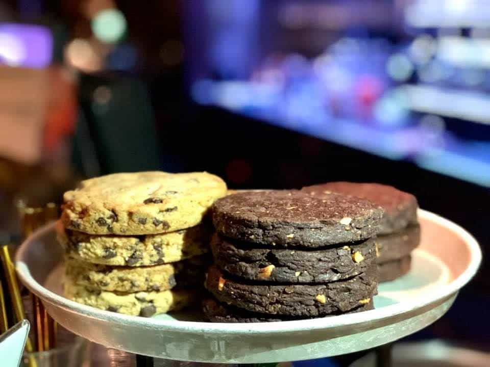 Vegan cakes and cookies Hiltl