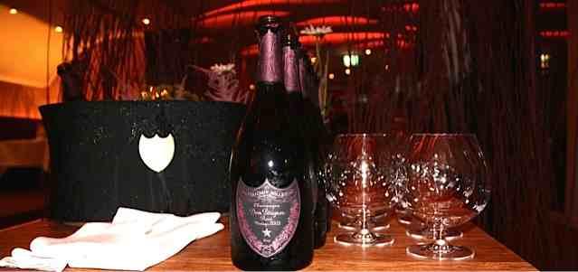 Dom Perignon Champagne tasting Rose Paradoxe