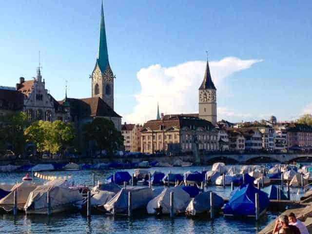 Zurich city © NewinZurich.com