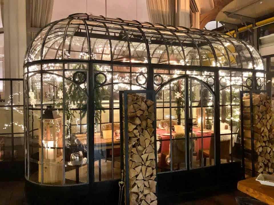 Montreux Palace Winter Gardens Montreux
