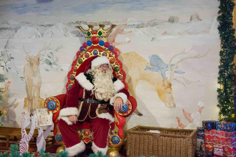Santa Claus Rochers de Naye Montreux