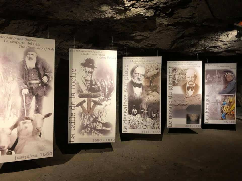 An Interesting Visit to the Salt Mines at Bex Switzerland