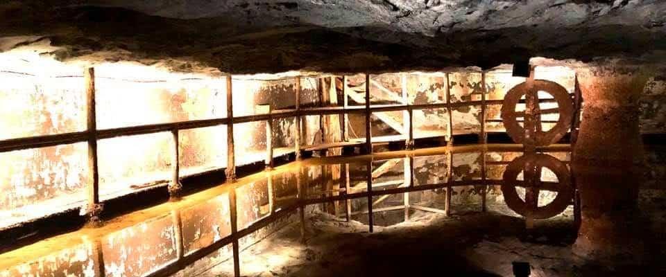 An Interesting Visit to the Salt Mines at Bex Switzerland
