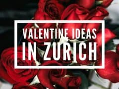 Valentine Present Ideas in Zurich
