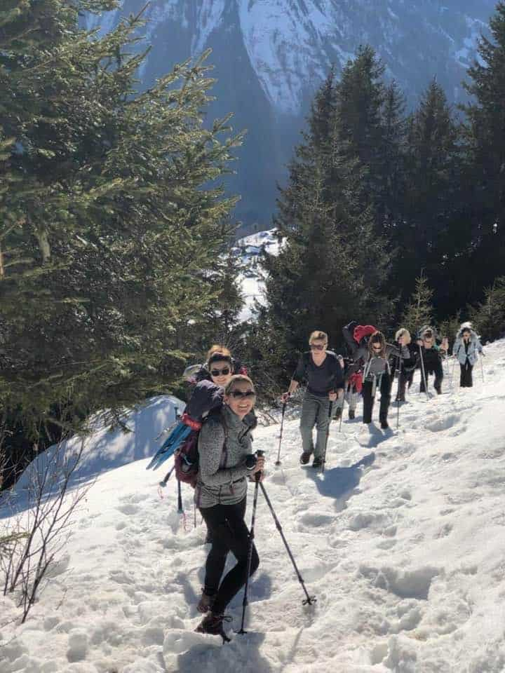 A Wonderful Day Out Snow Shoeing in Braunwald Switzerland
