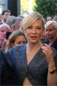 Cate Blanchett at Zurich Film Festival