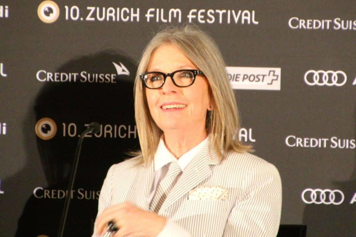 Diane Keaton at Zurich Film Festival