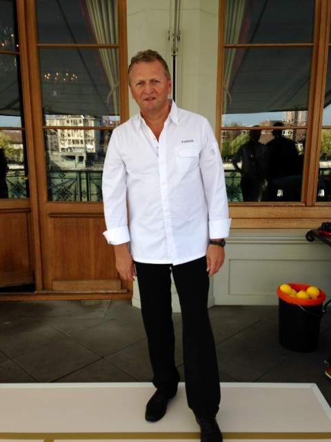 Peter Knogl Chef Hotel des Trois Rois Basel