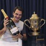 Roger Federer Wins Swiss Indoors 2014 in Basel