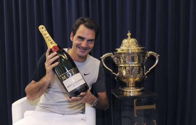 Roger Federer wins Swiss Open