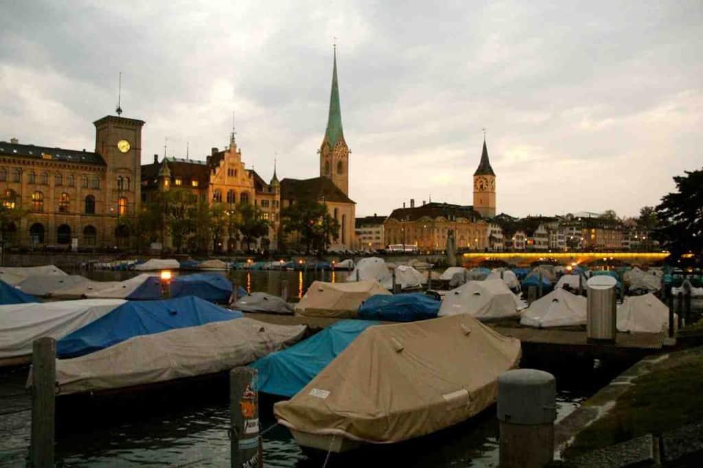 Zurich by the Limmat