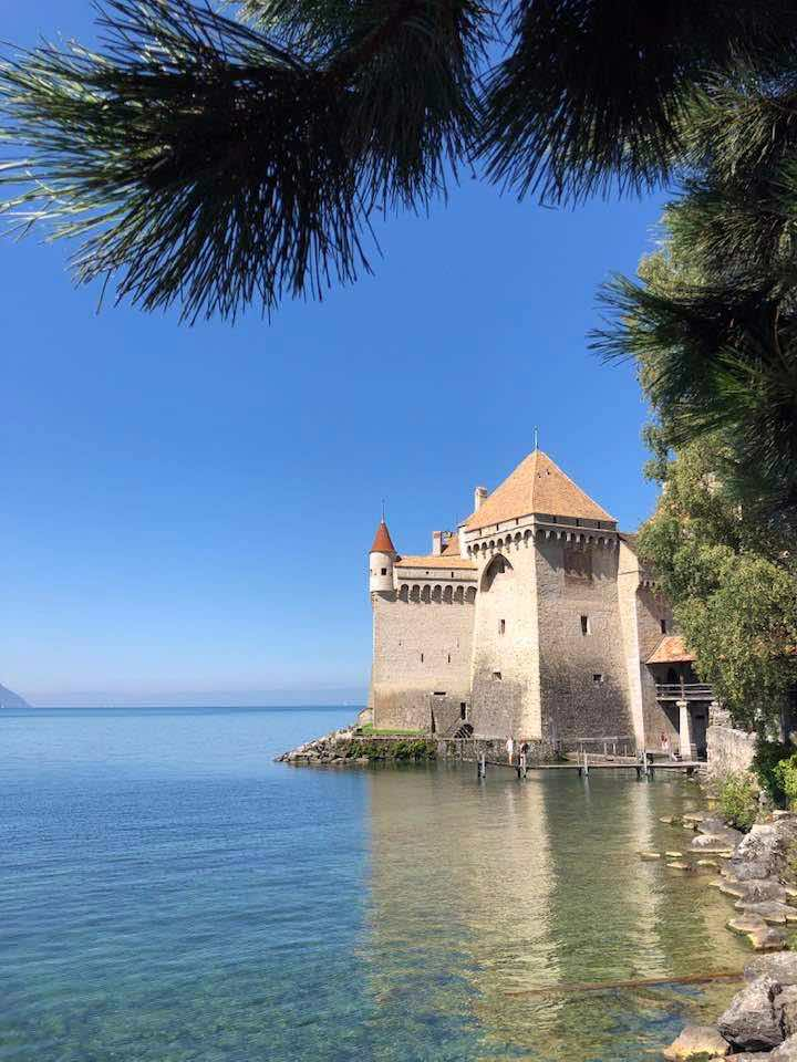 A Trip to The Stunning Chateau de Chillon Montreux