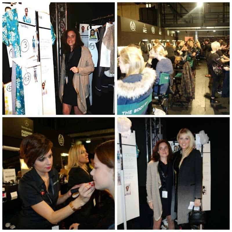 Behind the scenes at MB Fashion Days Zurich