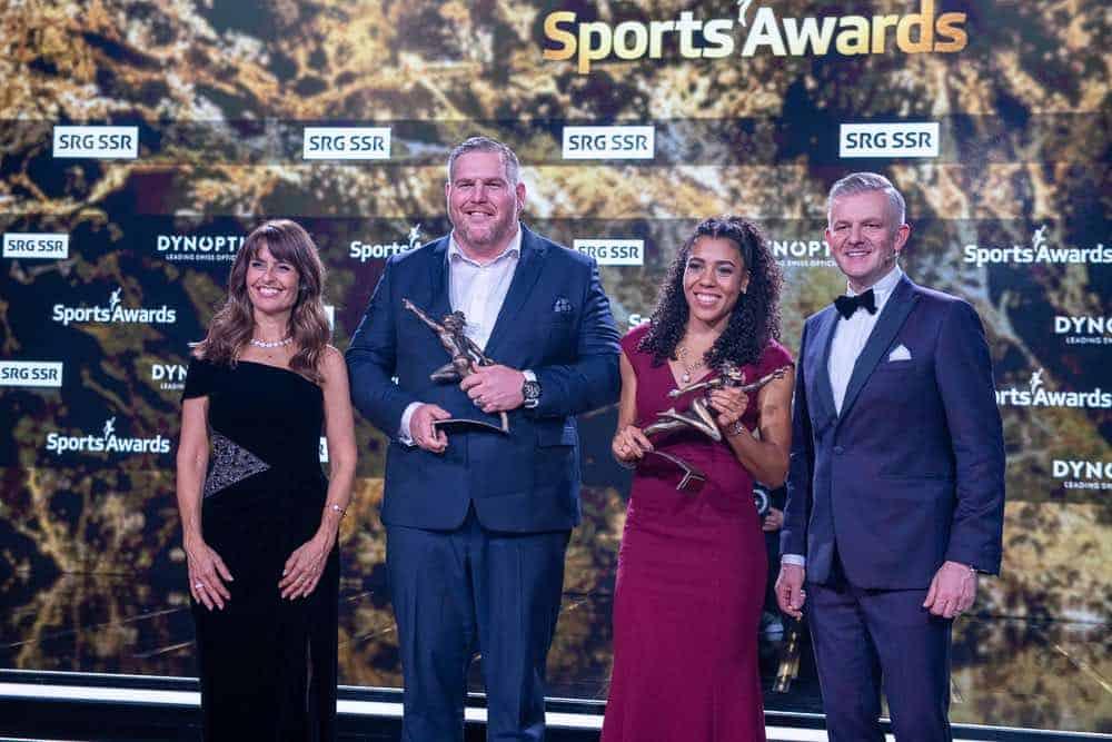 Winners of Swiss Sports Awards December 2019