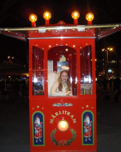 Jelmoli Childrens Christmas Tram